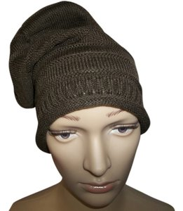 Other BRAND NEW Acrylic Knit Hat, Brown .Winter warmth for your head!