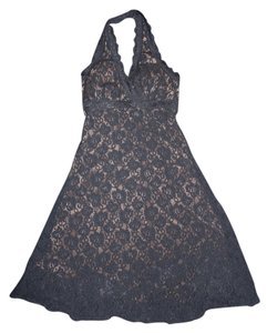 Jodi Kristopher Halter Lace Sexy Party Dress