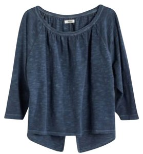 Madewell Top Dark Midnight / Navy Blue