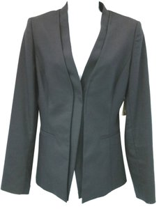 Elie Tahari V-neck Wool BLACK Blazer