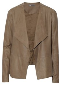 Vince Leather Brown light brown Leather Jacket