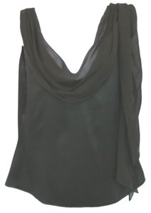 Ralph Lauren Satin Silk Top BLACK