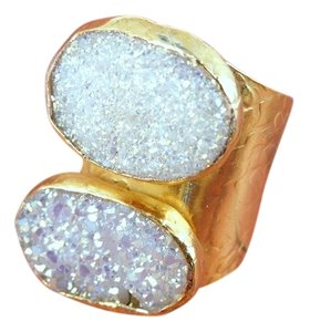 24k Gold Electroplated Ring