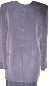 Jones New York Two Piece Suit with 2/3 length Jacket, Short Skirt and Slacks