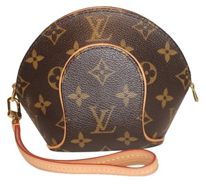 Louis Vuitton Small Wristlet in Brown