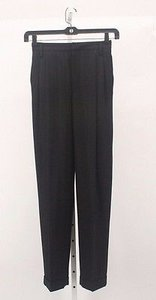 Ellen Tracy X Black On Black Stripe Trousers B229 Pants