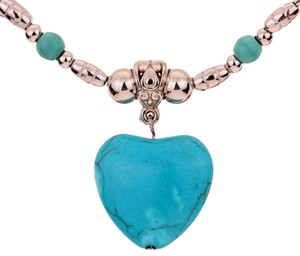 Beautiful Turquoise Heart Necklace
