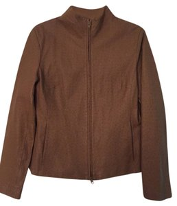 Express Leather tan Leather Jacket