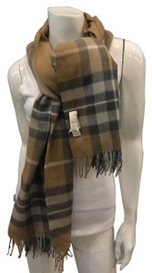 Escada Escada Plaid Scarf/wrap