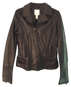 Diesel Leather Leather black Leather Jacket