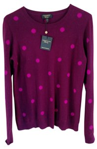 Charter Club Cashmere Wine Sweater