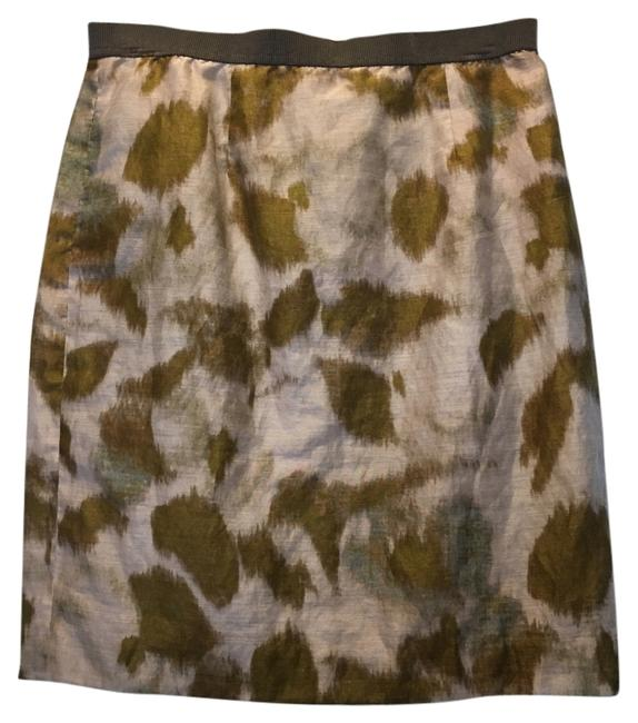 Item - Chartreuse/Taupe Skirt Size 8 (M, 29, 30)