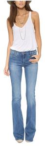 MiH Jeans Flare Leg Jeans-Medium Wash