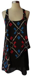 Urban Outfitters short dress Black /Blue/Red on Tradesy