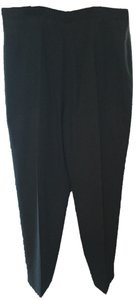 Giannini Wool Straight Pants Black