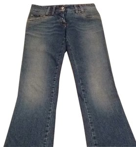 Dolce&Gabbana Straight Leg Jeans-Distressed