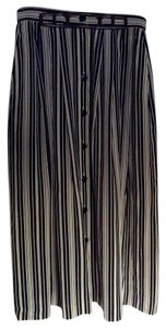Evan Picone Skirt Black and cream
