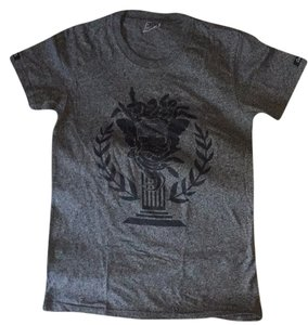 Crooks and Castles T Shirt Gray and Black