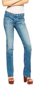 MiH Jeans Straight Leg Jeans-Light Wash
