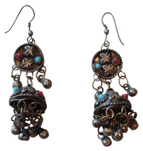 Other Tibetan Silver Earrings