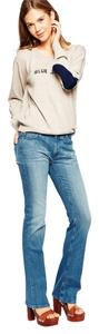 MiH Jeans Straight Leg Jeans-Medium Wash