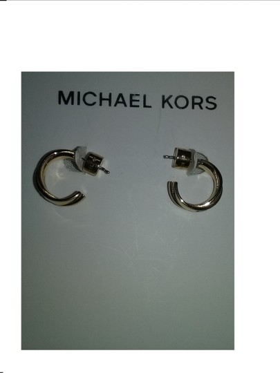Michael Kors Contact me for 10% Off **2 Piece SET* Pyramid Necklace & Twist Hoops