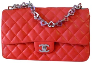 Chanel Valentine Heart Flap Charm Icon Shoulder Bag