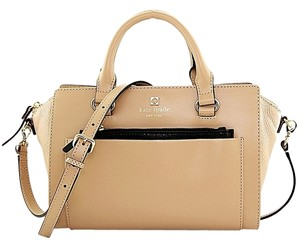 Kate Spade Satchel in Dune and Black