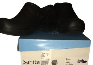 Sanita Black Mules