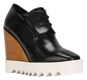 Stella McCartney Black and white Wedges