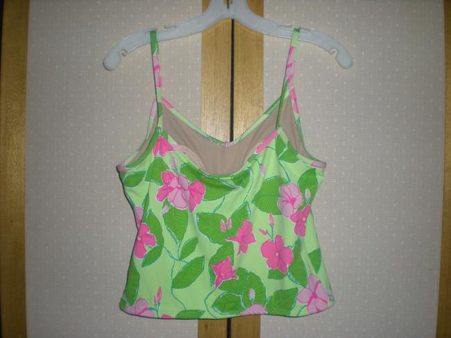 Lilly Pulitzer Top Green and Pink