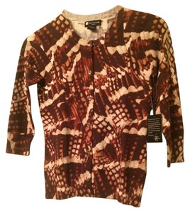 Valerie Bertinelli Brown Sweater