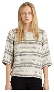IRO Parisian Paris French Striped Tweed Sweater