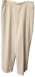 Caroline Rose Polyester Straight Pants White