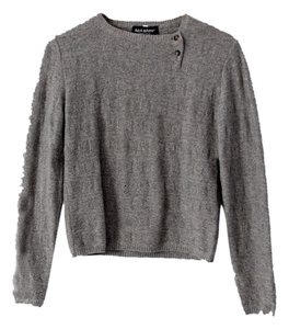 Aida Barni Cashmere Pullover Button Neck Sweater