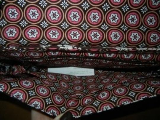 Vera Bradley With Removable Strap. Imperial Brown-Imperial Toile Clutch