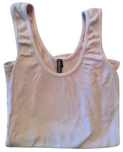 James Perse Ribbed Singlet A Shirt Top