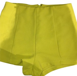 Forever 21 Mini/Short Shorts Neon Yellow