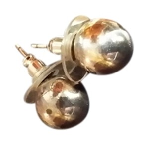 Tiffany & Co. Tiffany & Co Sterling silver round ball earings.