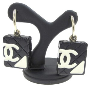 Chanel Chanel Cambon Motif Earrings