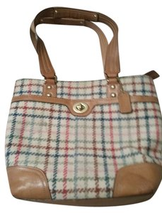 Coach Tote in Tattersall