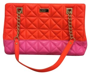 Kate Spade Satchel in Neon Red And Pink