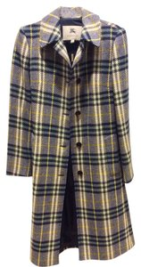 Burberry London Burberry Wool Novacheck Classic Burberry Coat