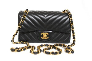 Chanel Chevron Woc Shoulder Bag