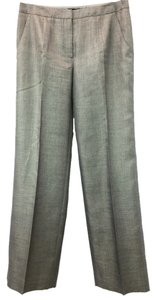 Giorgio Armani 46 Straight Pants PEWTER