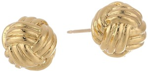 Kate Spade Kate Spade New York Know The Ropes Gold Stud Earrings