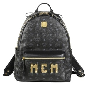 MCM Visetos Stark Monogram Backpack