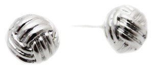 Kate Spade Kate Spade New York Know The Ropes Silver Stud Earrings