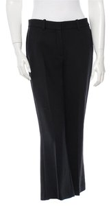 Theory Culottes Cropped Gaucho 70s 1970s Flare Capri/Cropped Pants Black