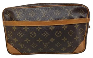 Louis Vuitton 28 26 23 Cosmetic Brown Clutch